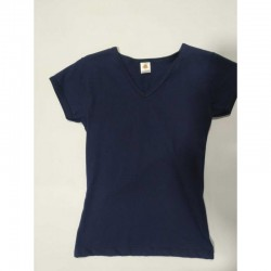 Camiseta Mujer Unicolor