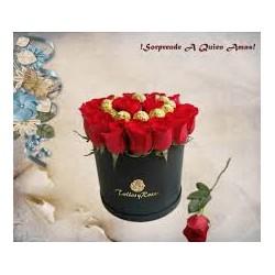 Lujoso Ramo de Rosas en...