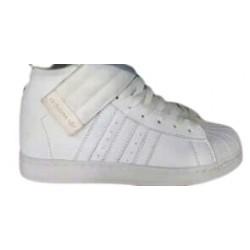 Tennis Bota Adidas Blancos