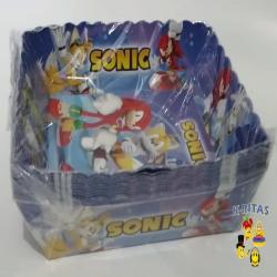 Bandejas Sonic Fiesta Infantil